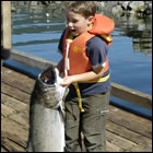 fishing at Island West Resort in Ucluelet